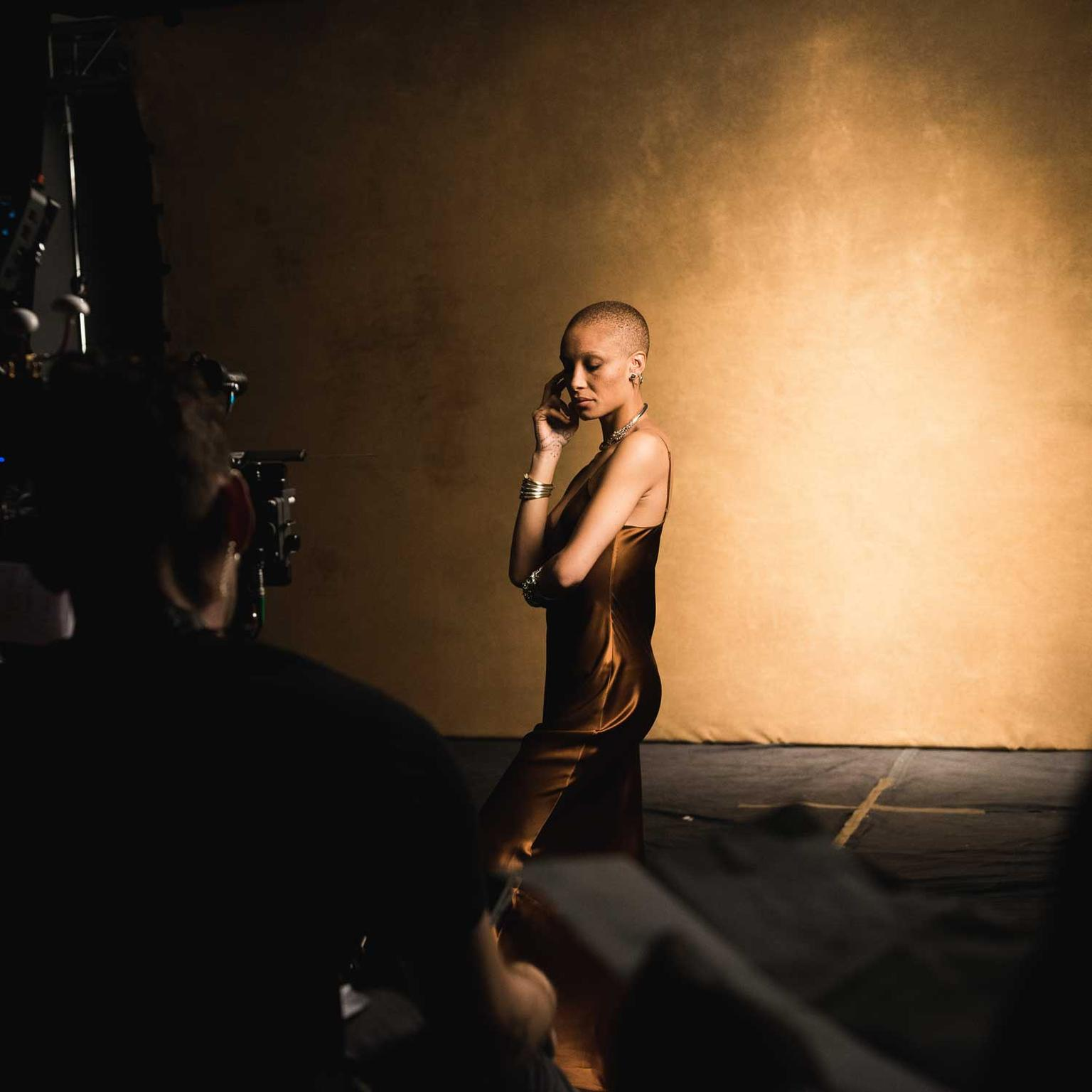 Adwoa Aboah in photo shoot for John Hardy Made for Legends campaign
