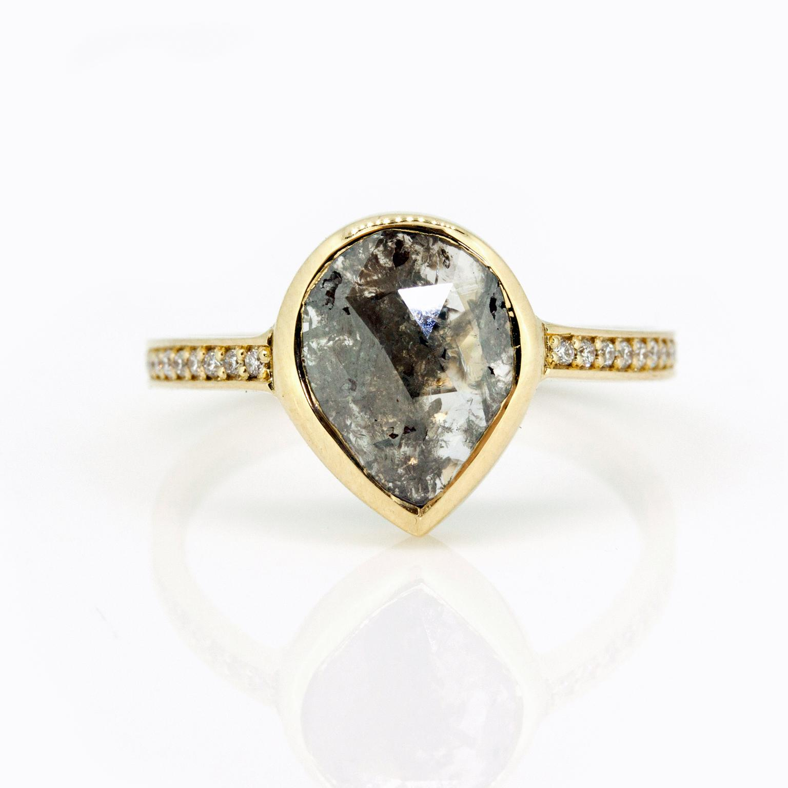 Sorrel Bay engagement ring in Fairtrade gold