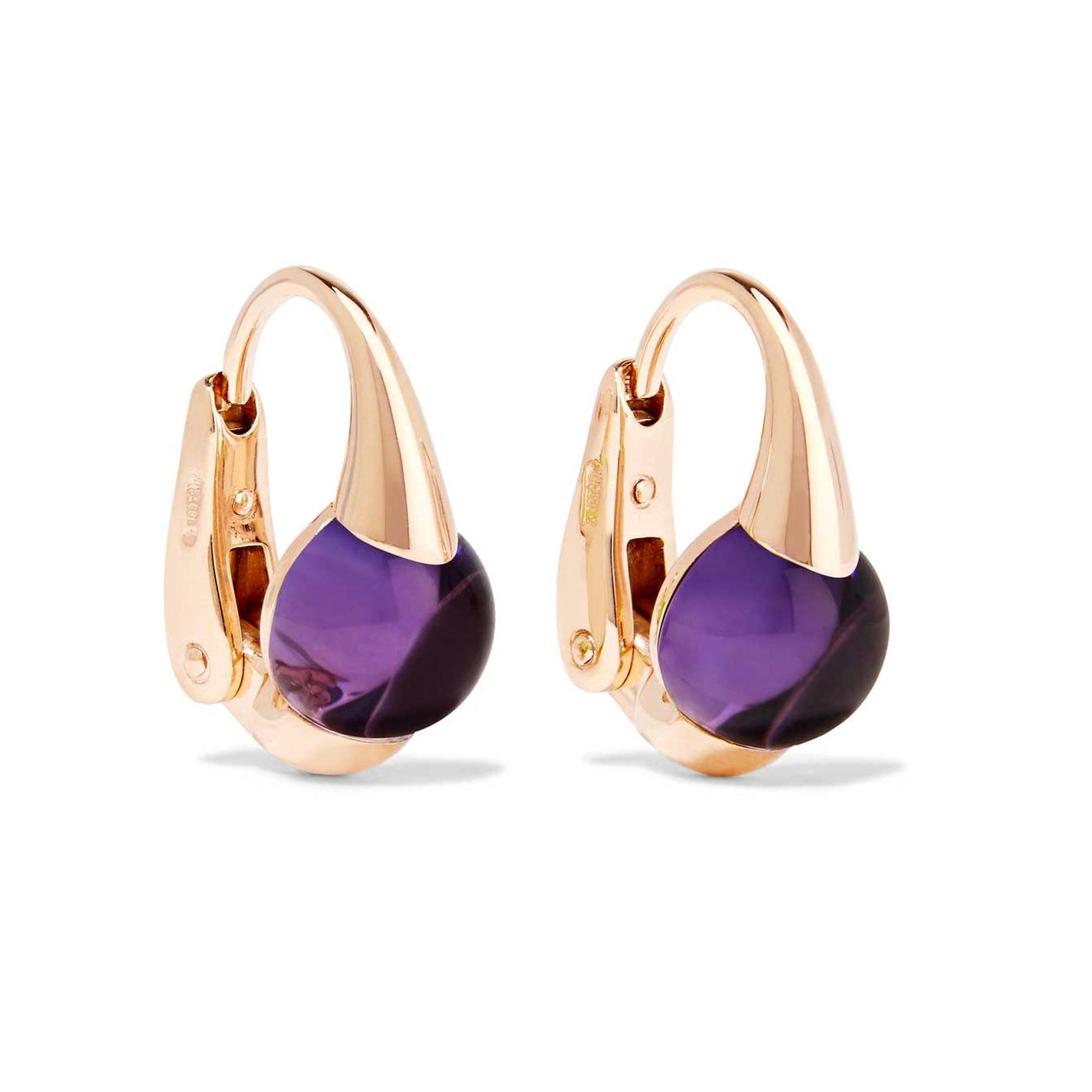 Pomellato Mama Non Mama amethyst earrings