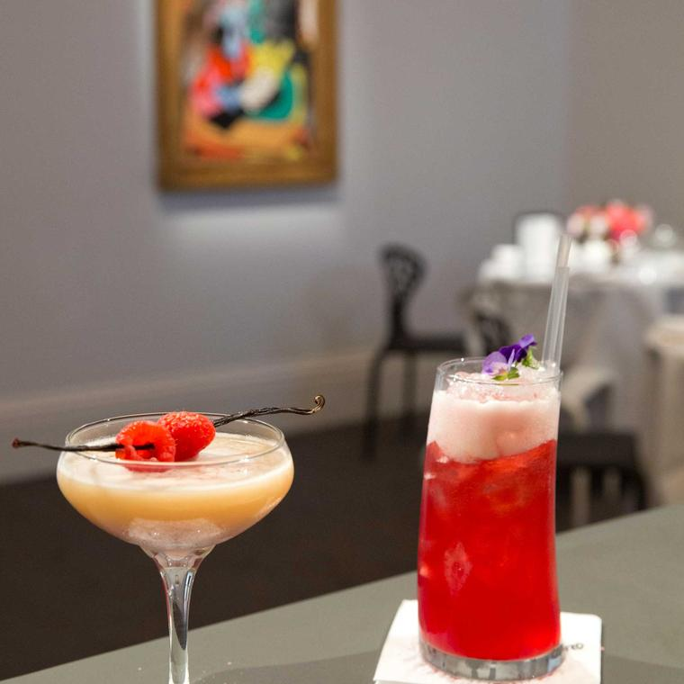 Sketch and Sotheby's collaboration drinks
