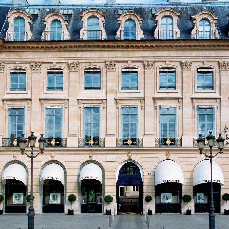 Chaumet boutique on Place Vendôme in Paris