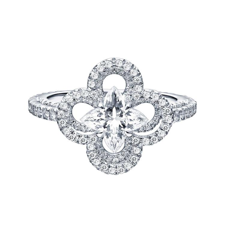 Our top three floral engagement rings for summer