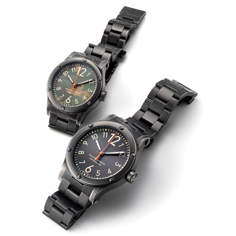 Ralph Lauren Safari Chronometer with steel bracelet