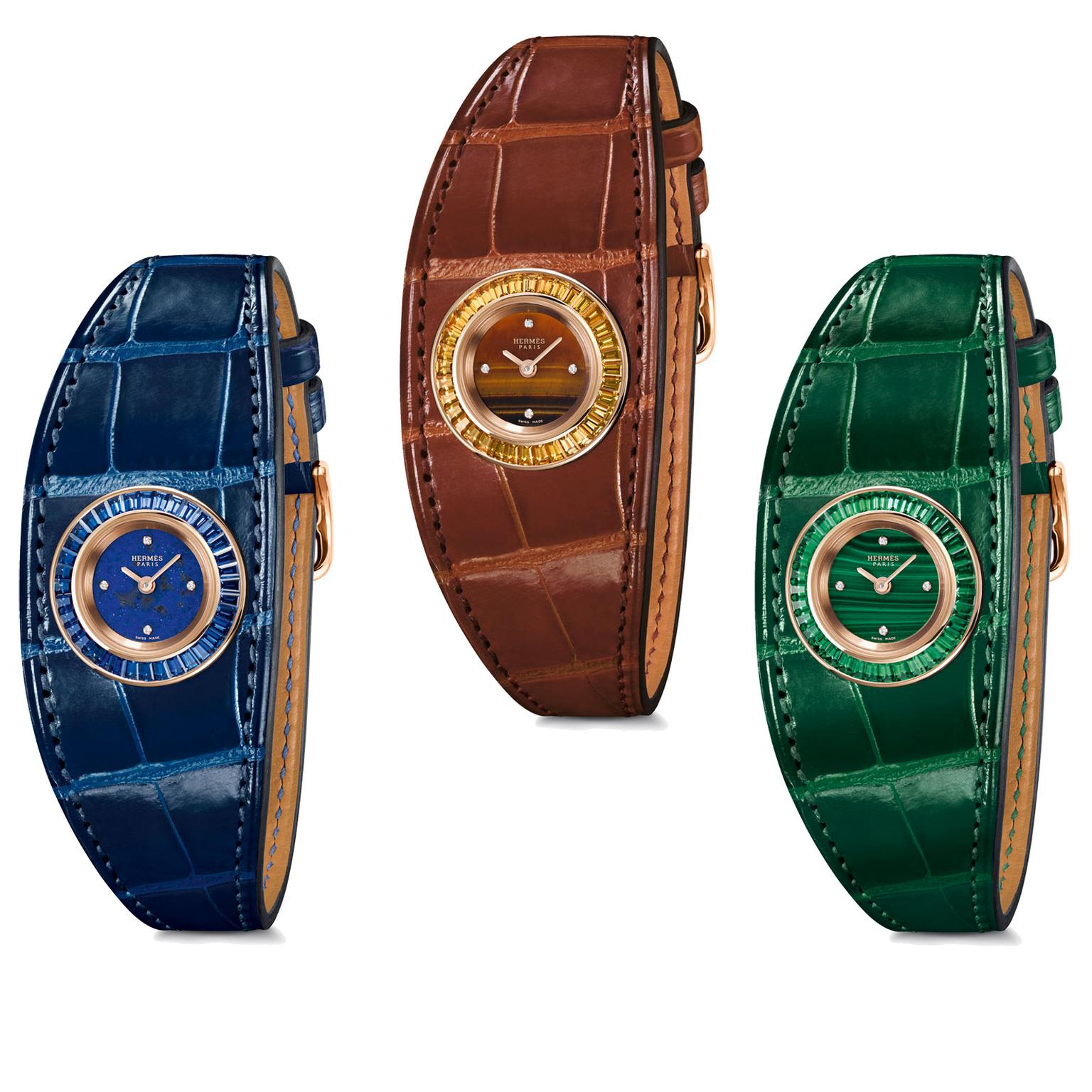 Hermes Faubourg Manchette Joaillerie watches