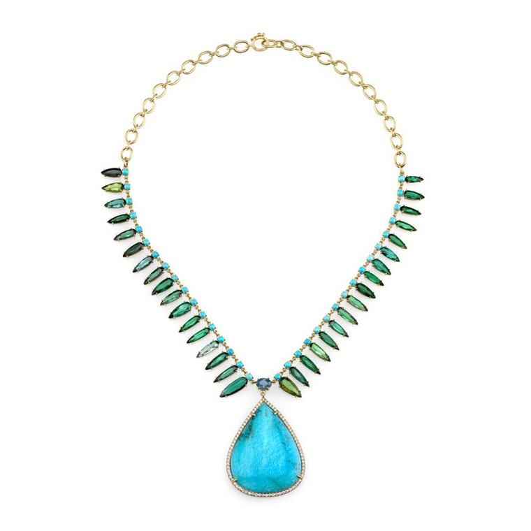Irene Neuwirth turquoise necklace