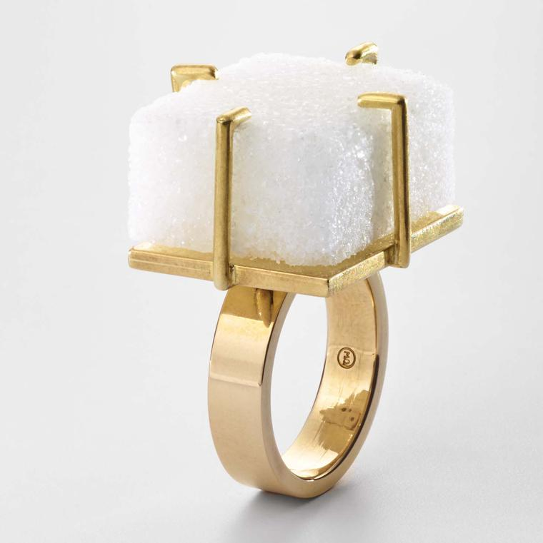 Sugar Cube Ring from Meret Oppenheim