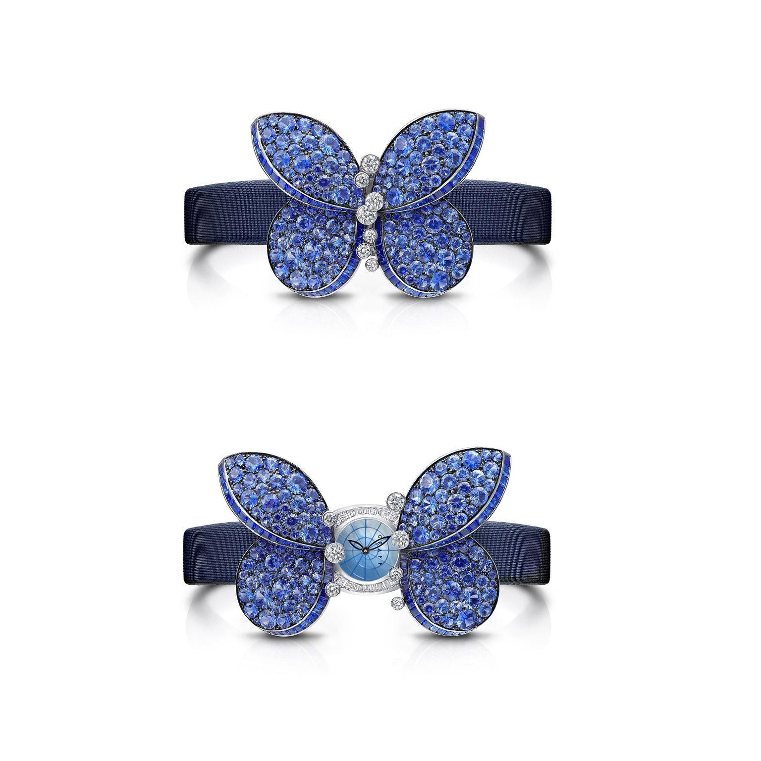 Graff Princess Butterfly secret watch