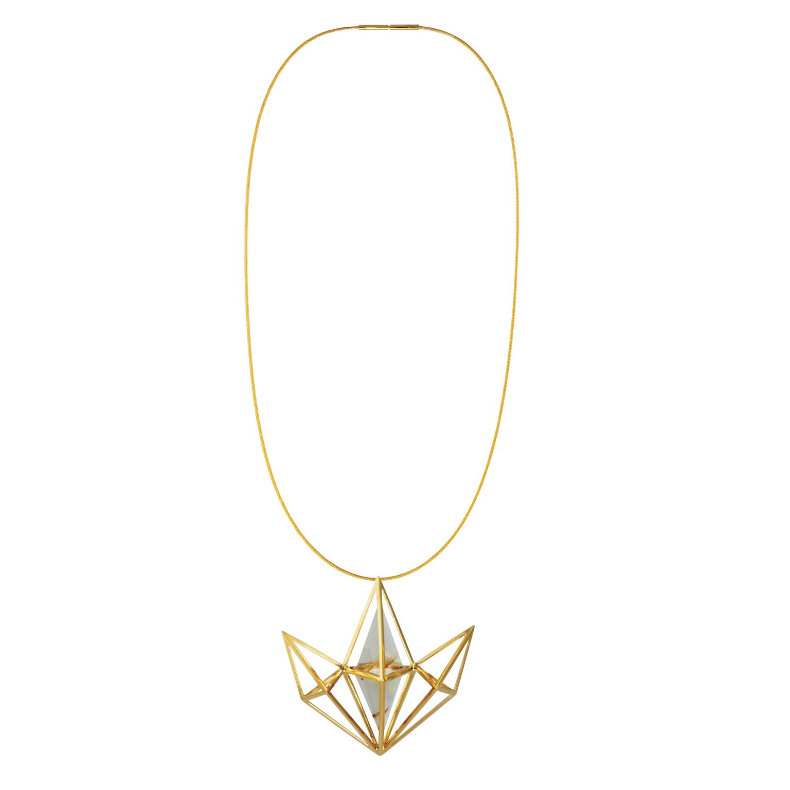 Kattri Fan necklace