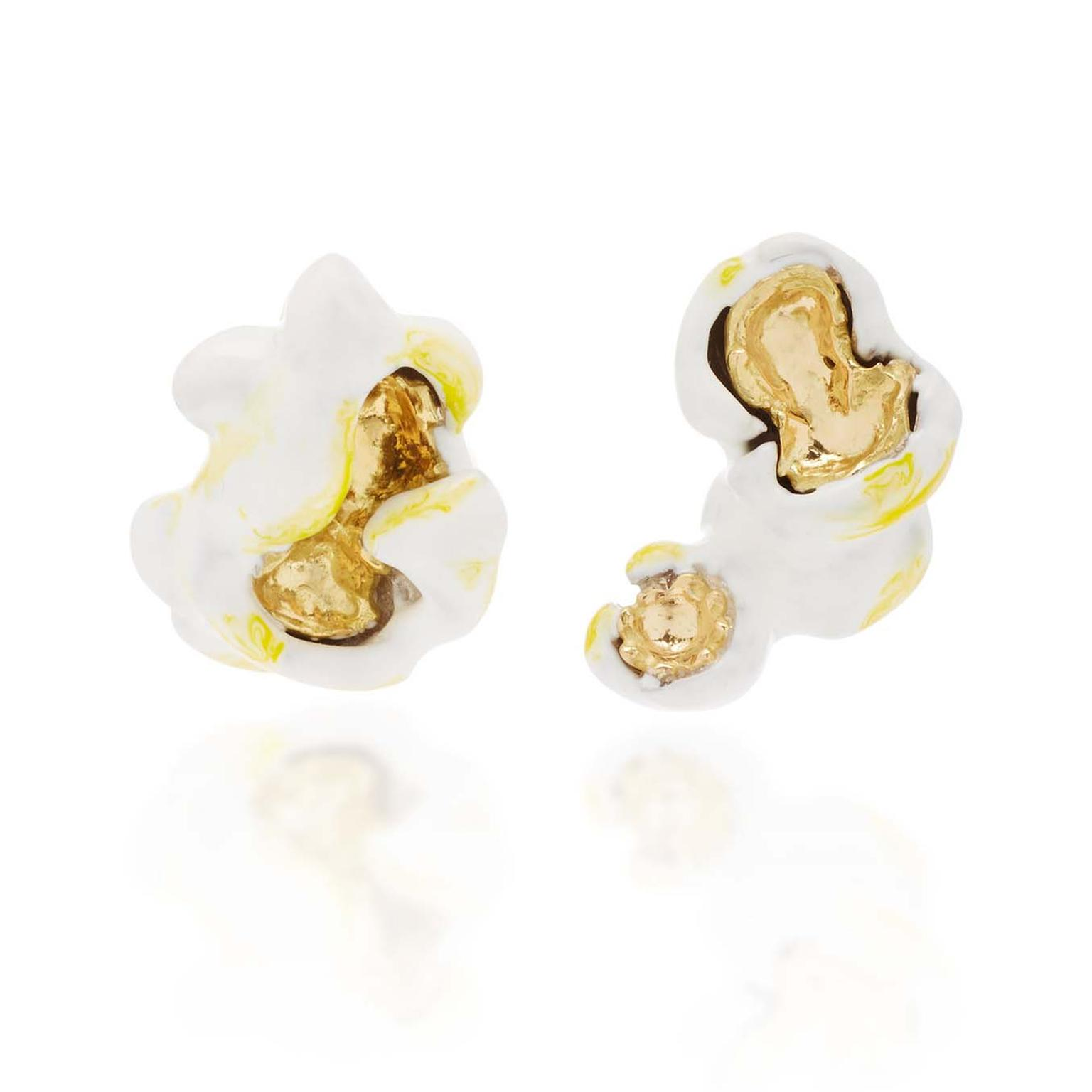 Luz Camino Pop Corn earrings