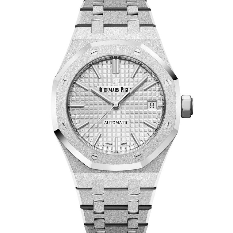 Royal Oak Frosted Gold 37mm white gold watch