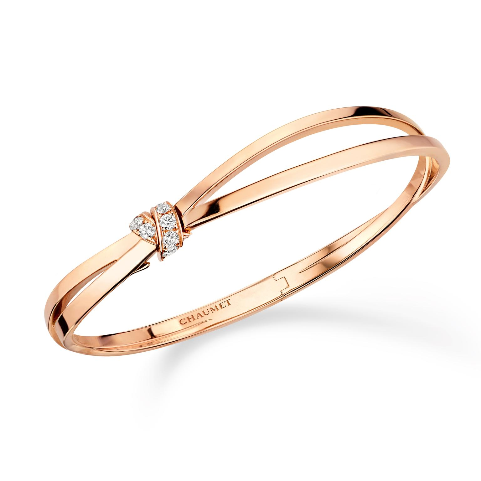 Chaumet Seduction rose gold bracelet