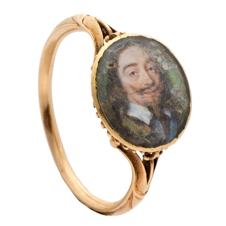 Stuart ring featuring King Charles I
