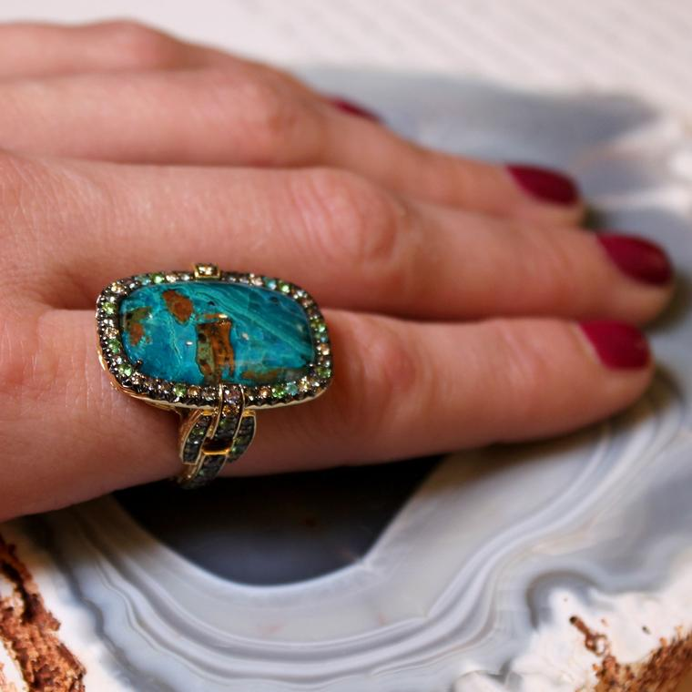 Jewels from day one at the Couture Show in Las Vegas