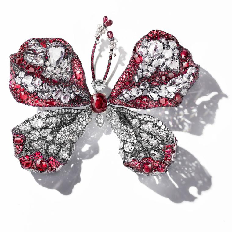 Cindy Chao The Art Jewel 2015-16 Ruby Butterfly