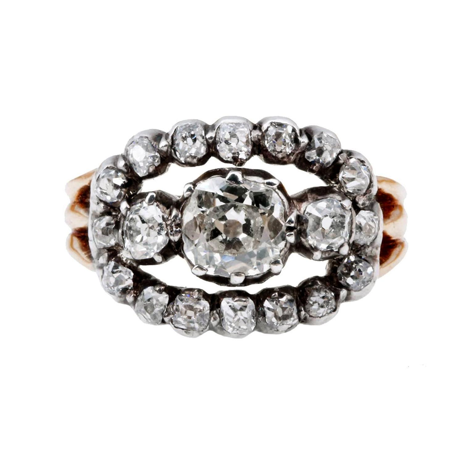 Fred Leighton Victorian alternative cluster ring