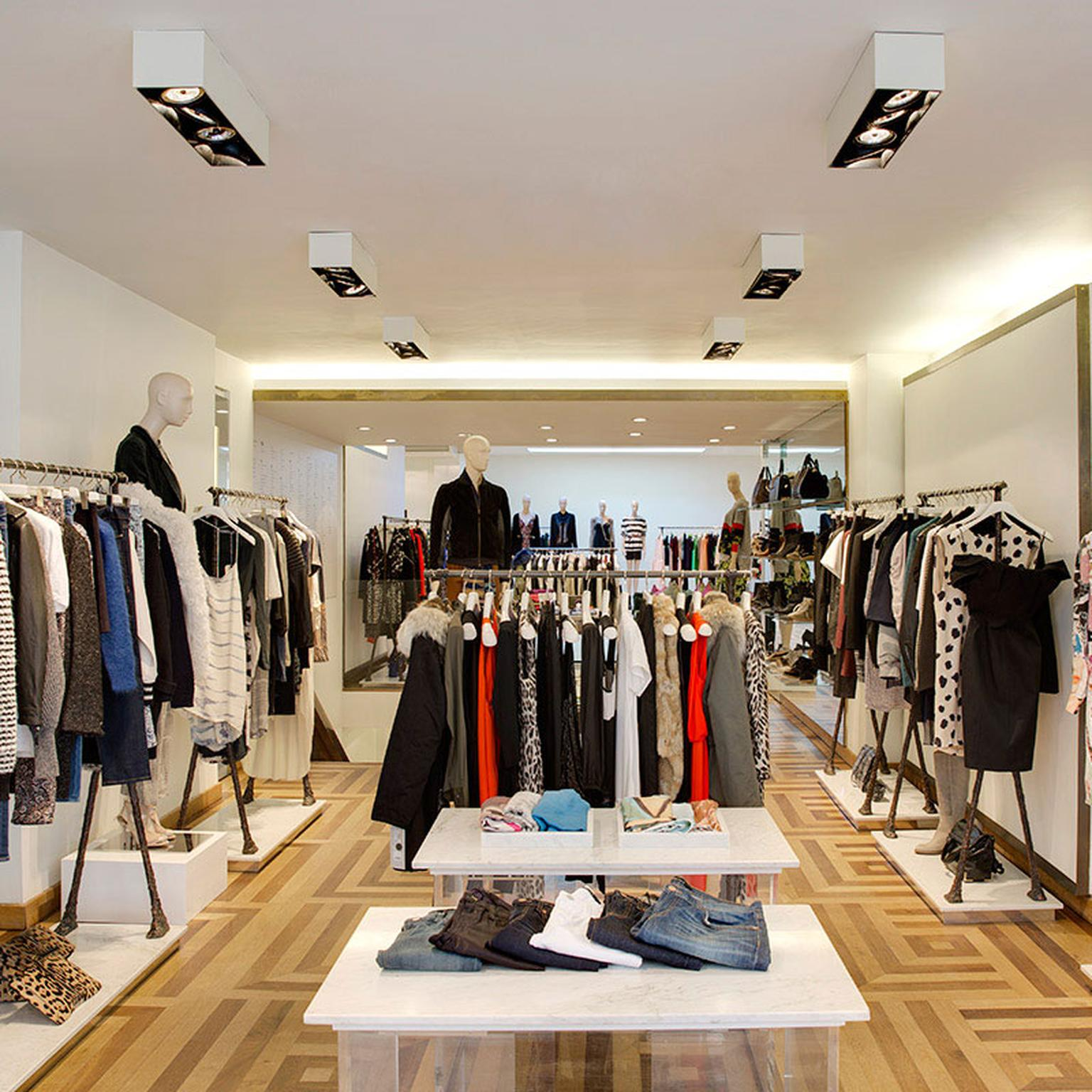 Matches Fashion boutique - interior
