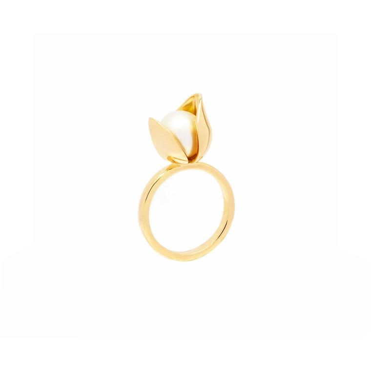 Tessa Packard Orchid ring white