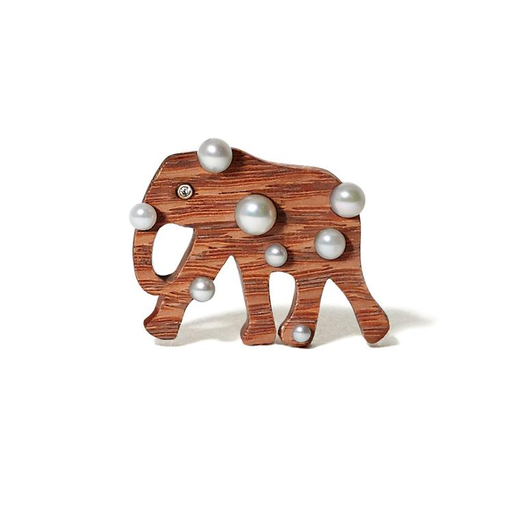 Mark Allary Elephant Wood Pearls