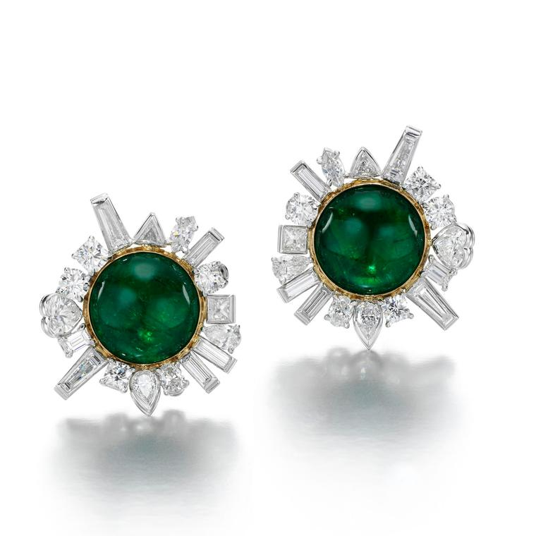 Jessica McCormack Flotsam & Jetsam emerald earrings