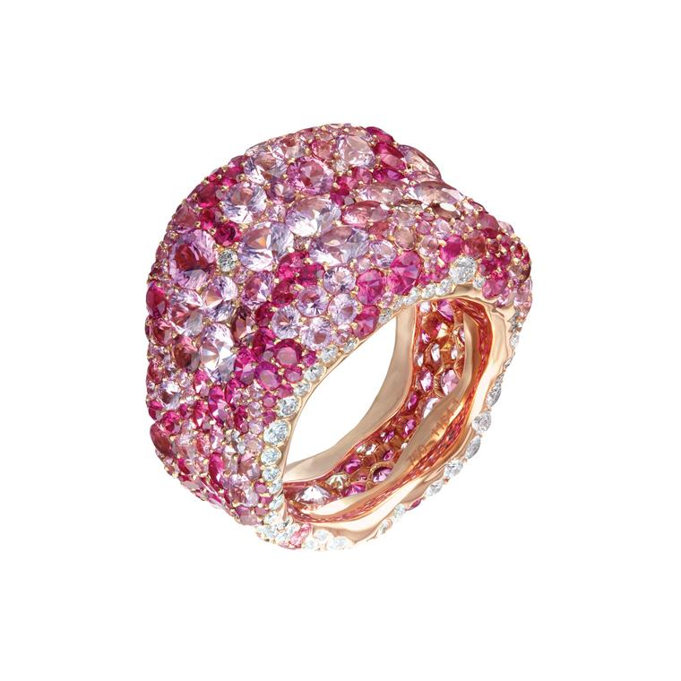 Fabergé Emotion Pink ring