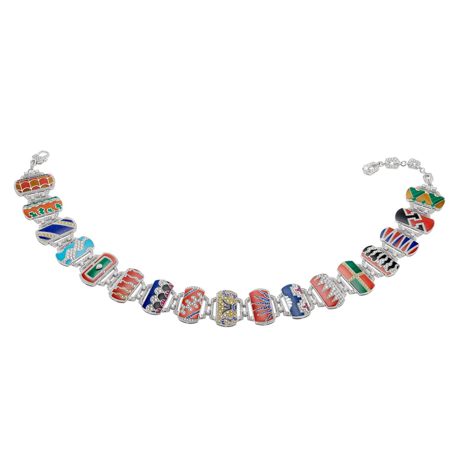Bulgari Il Palio di Siena Festa necklace