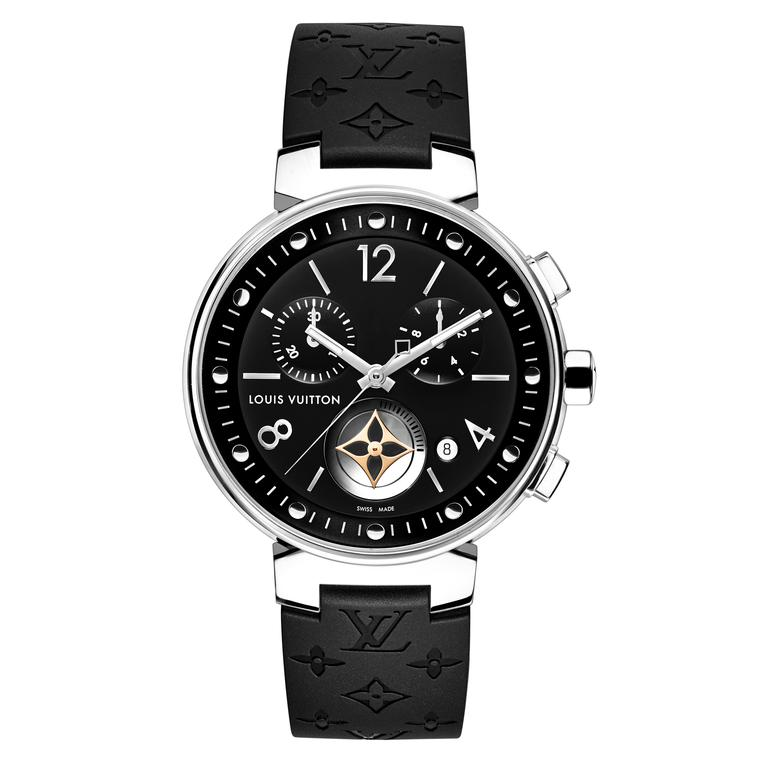 Louis Vuitton Tambour Moon Star Chronograph Black watch