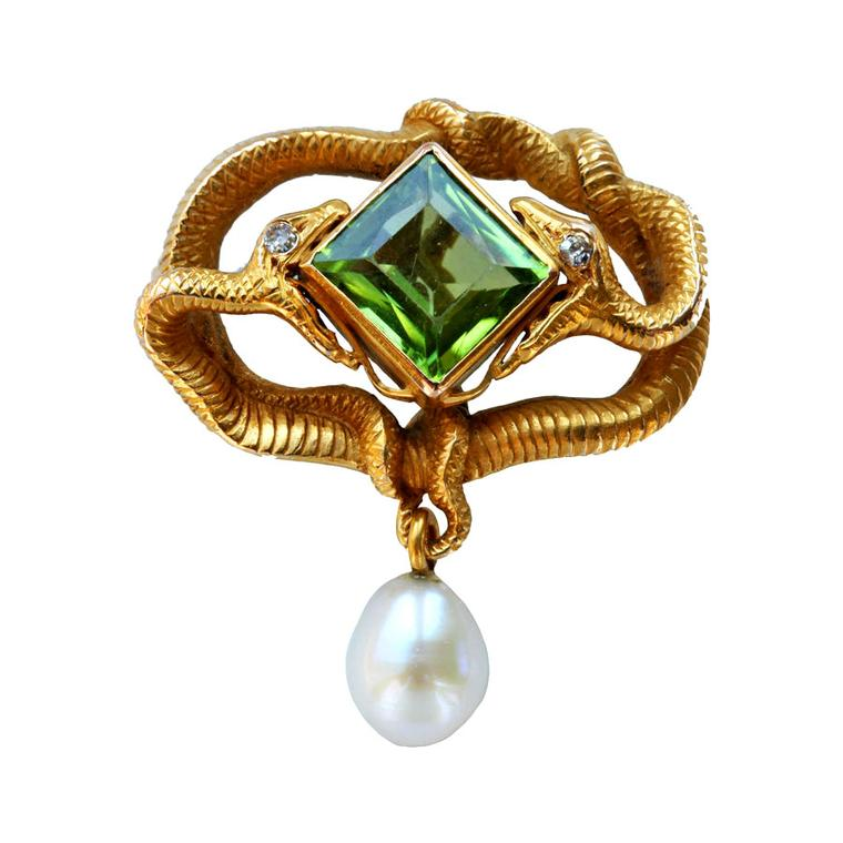 Tadema Gallery serpent brooch
