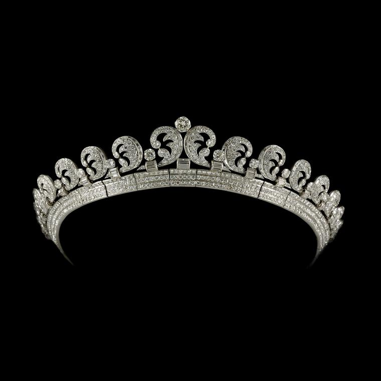 Cartier Halo Tiara 1936 worn by Kate Middleton on her wedding day