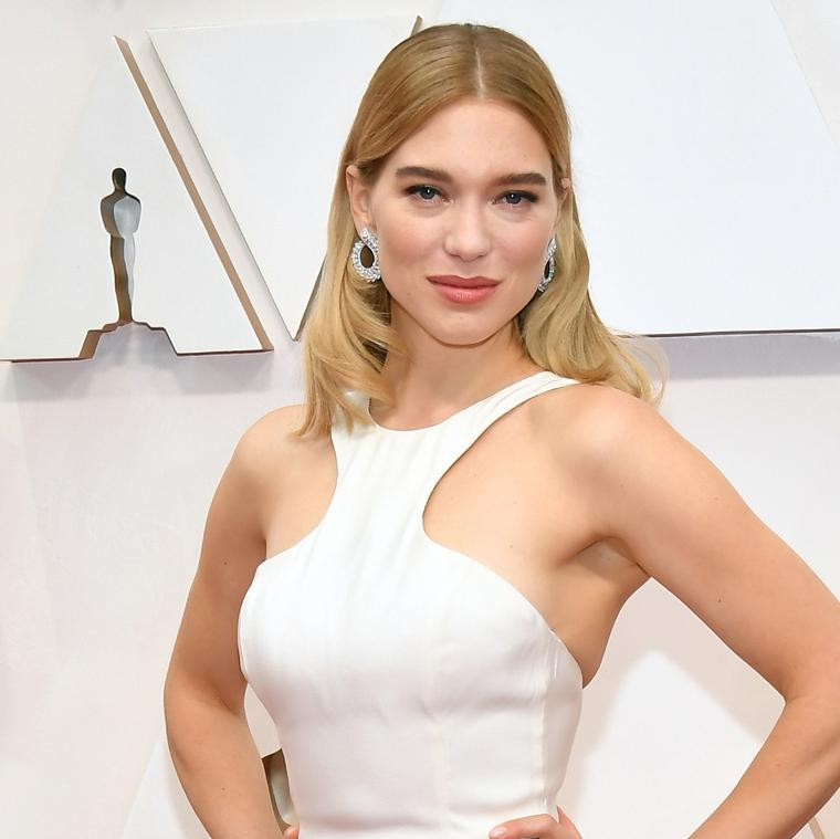Léa Seydoux attends the 92nd Annual Academy Awards wearing Chopard
