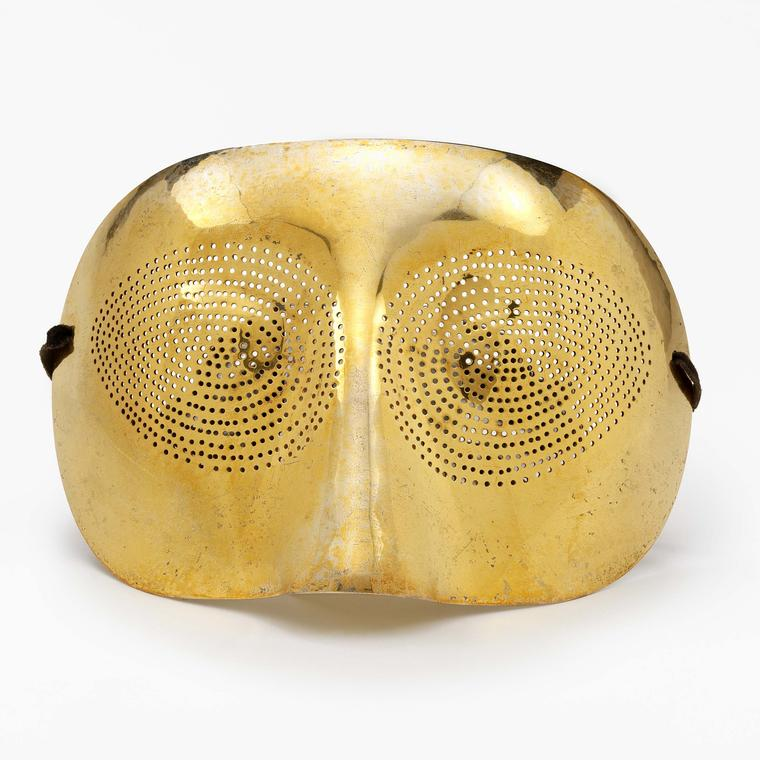 Optic Topic Mask from Man Ray