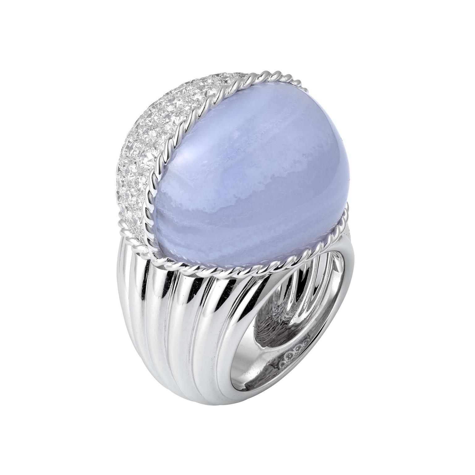 Cartier Paris Nouvelle Vague chalcedony ring