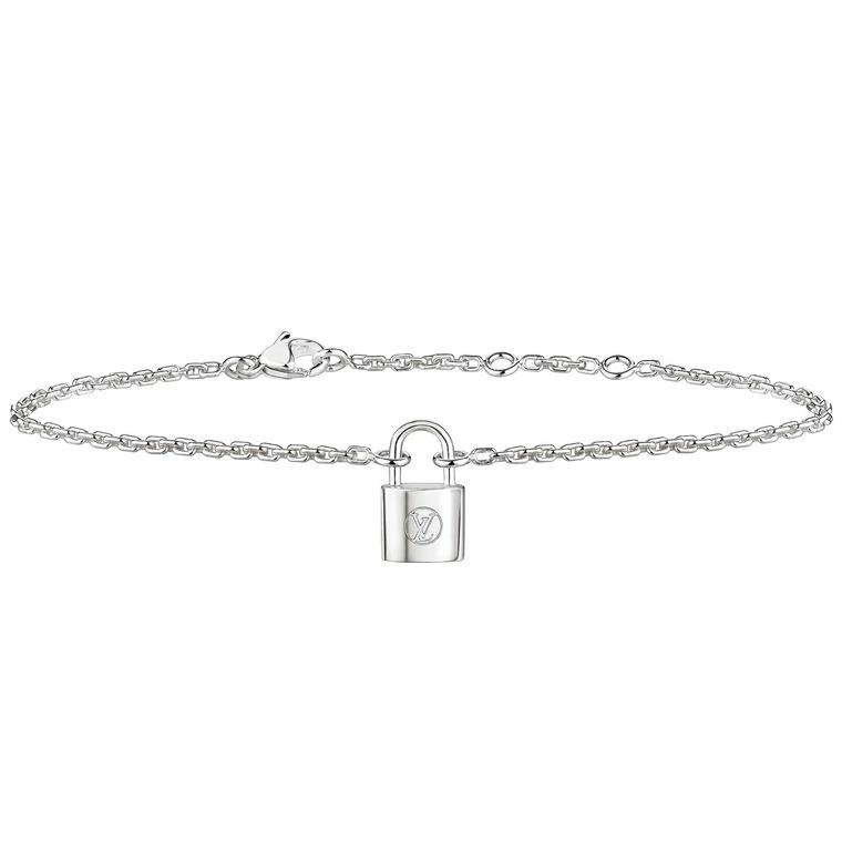 Louis Vuitton Lockit bracelet in sterling silver