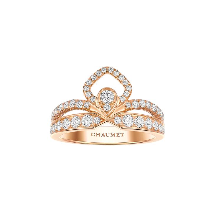 Chaumet Josephine Eclat pink gold ring