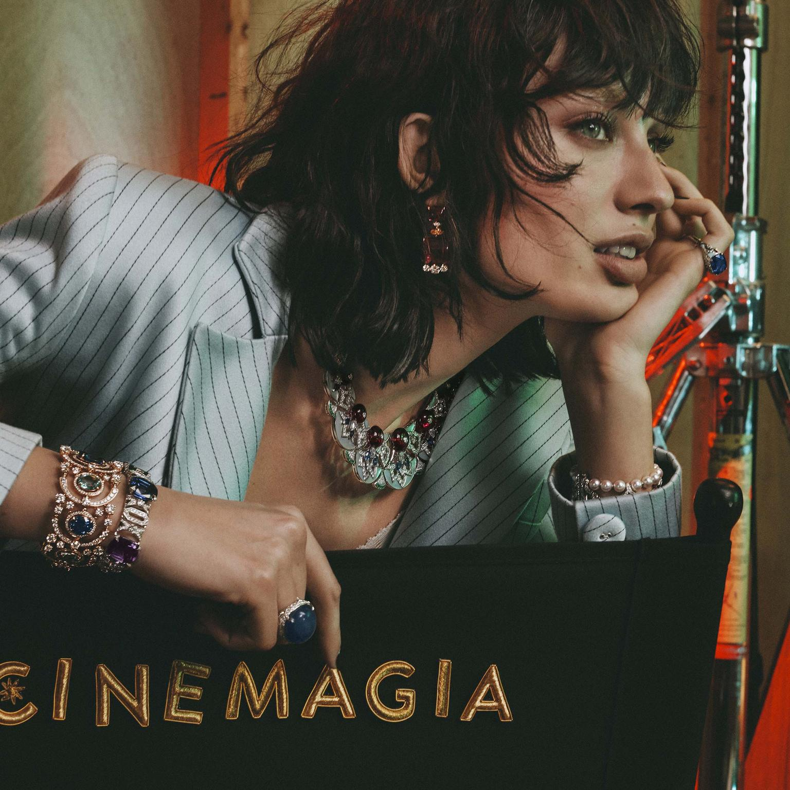 Bulgari Cinemagia Legendary Diva necklace and bracelet