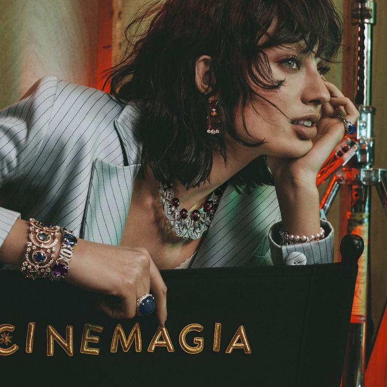 Bulgari's Cinemagia high jewellery enters a new dimension