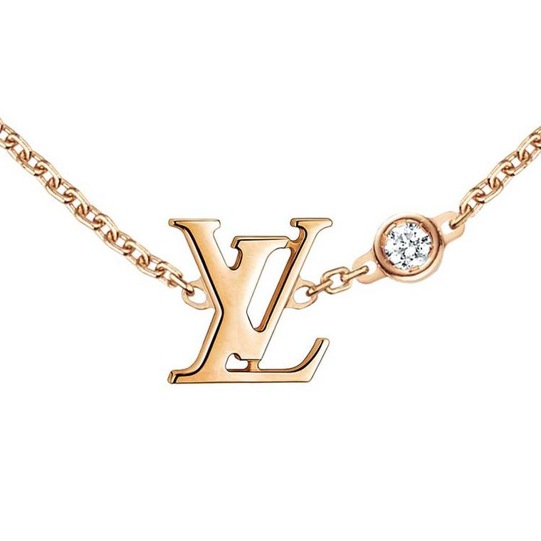 Louis Vuitton Idylle Blossom gold necklace