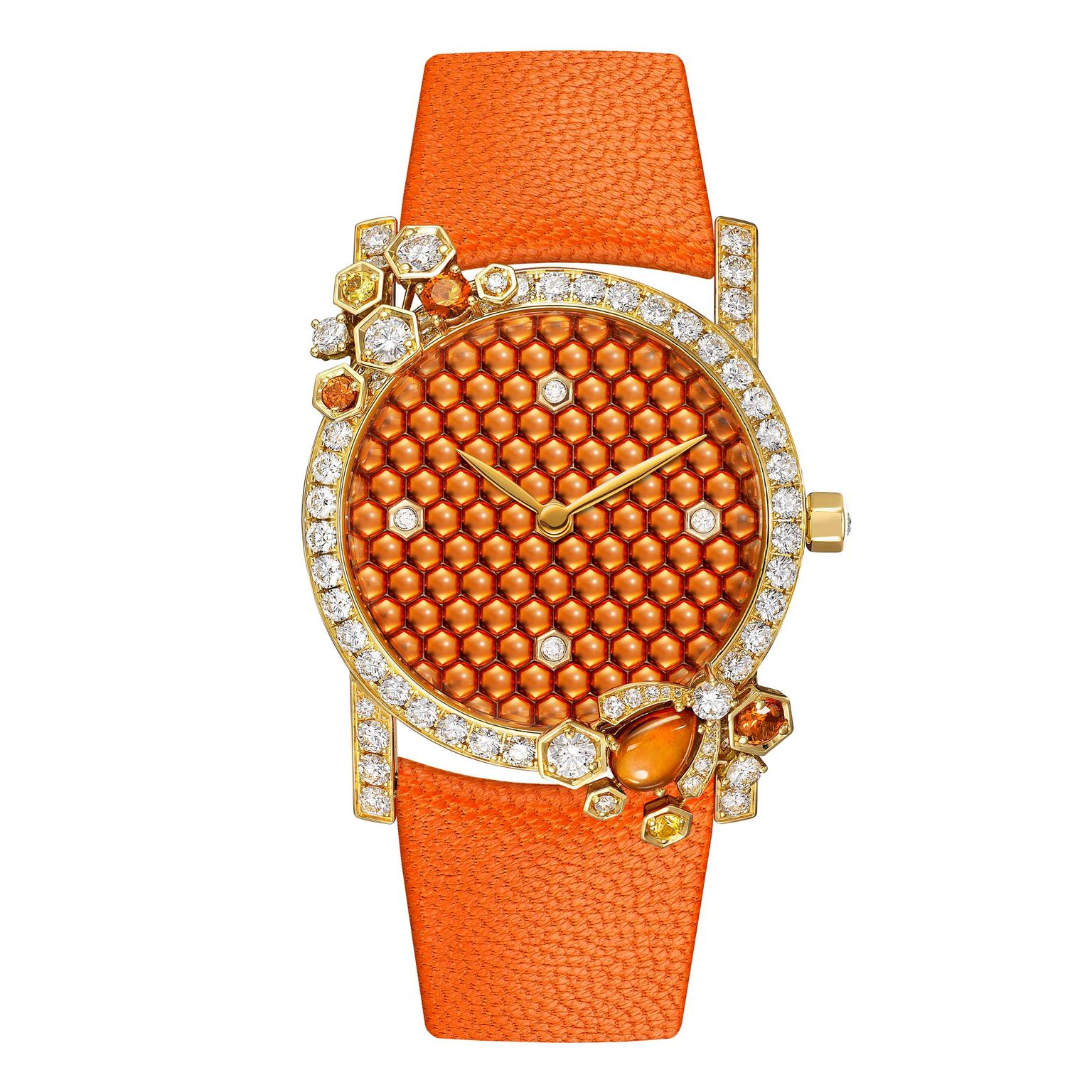 Chaumet Attrape-moi... si tu m'aimes honey bee watch