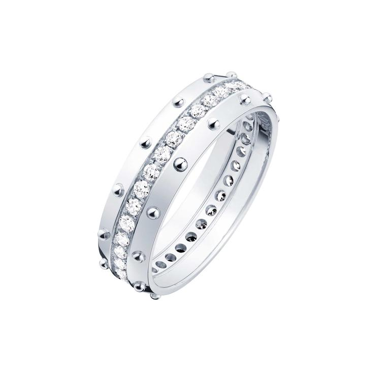 Louis Vuitton Emprise ring in white gold with diamonds