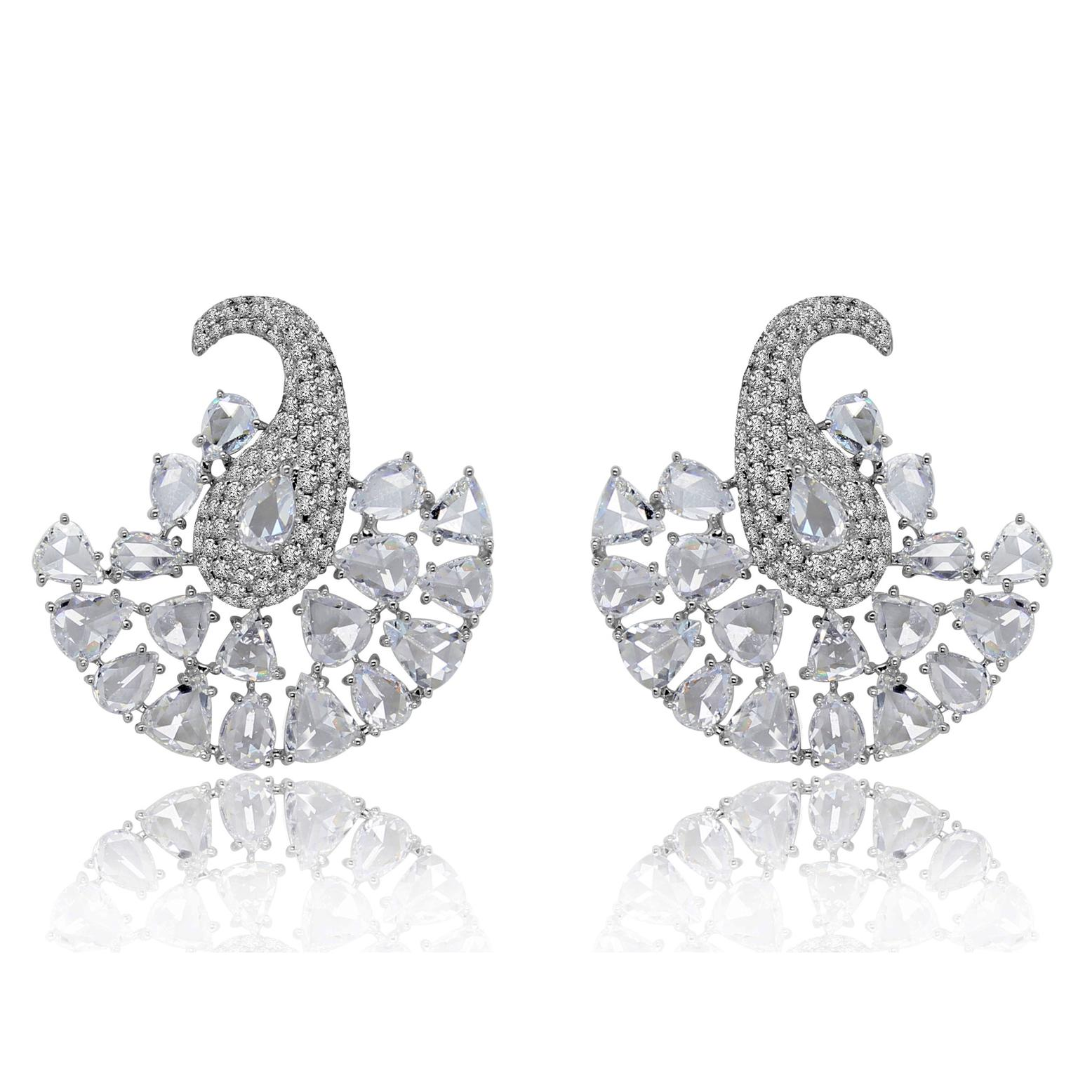 Sutra diamond earrings