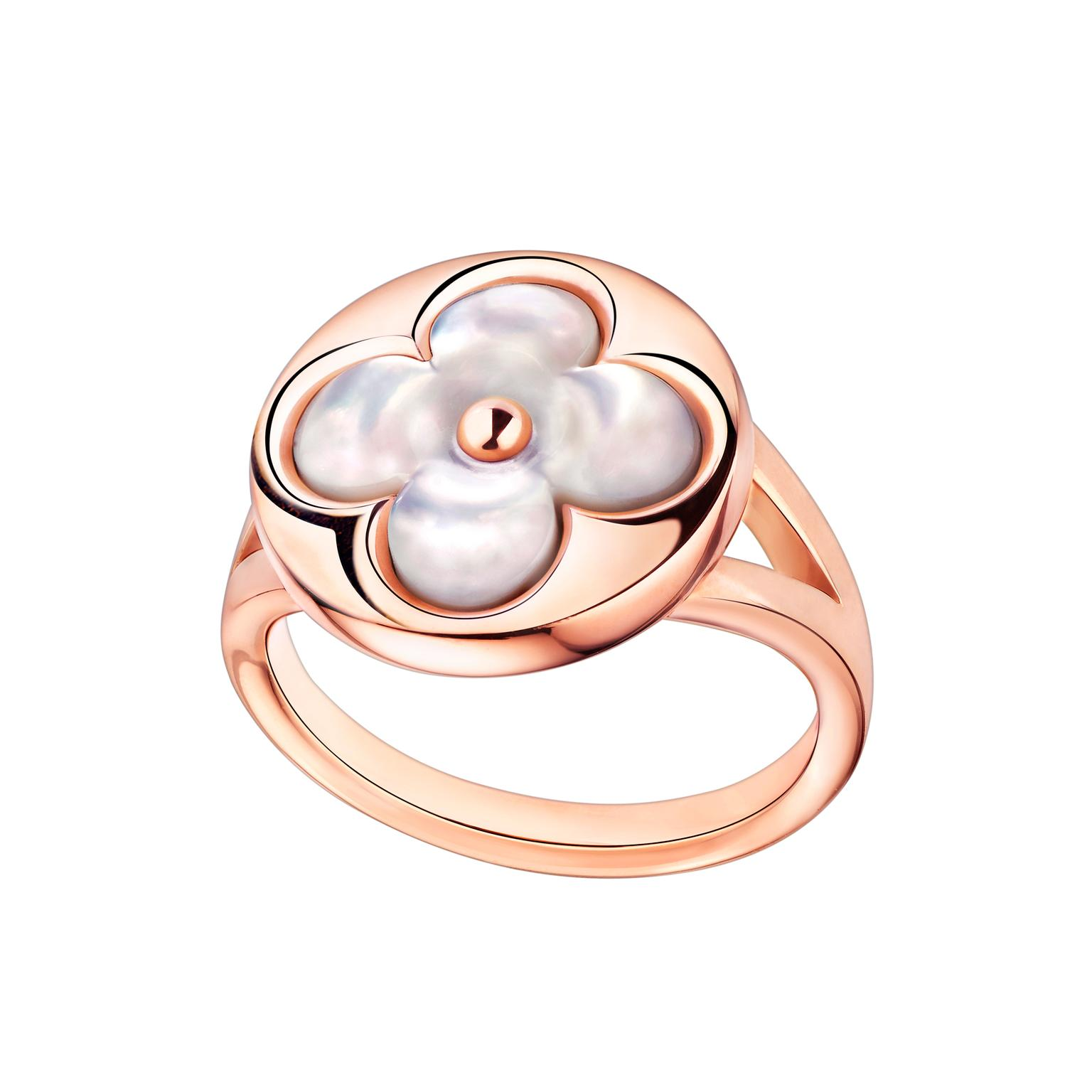 Louis Vuitton Blossom mother-of-pearl ring