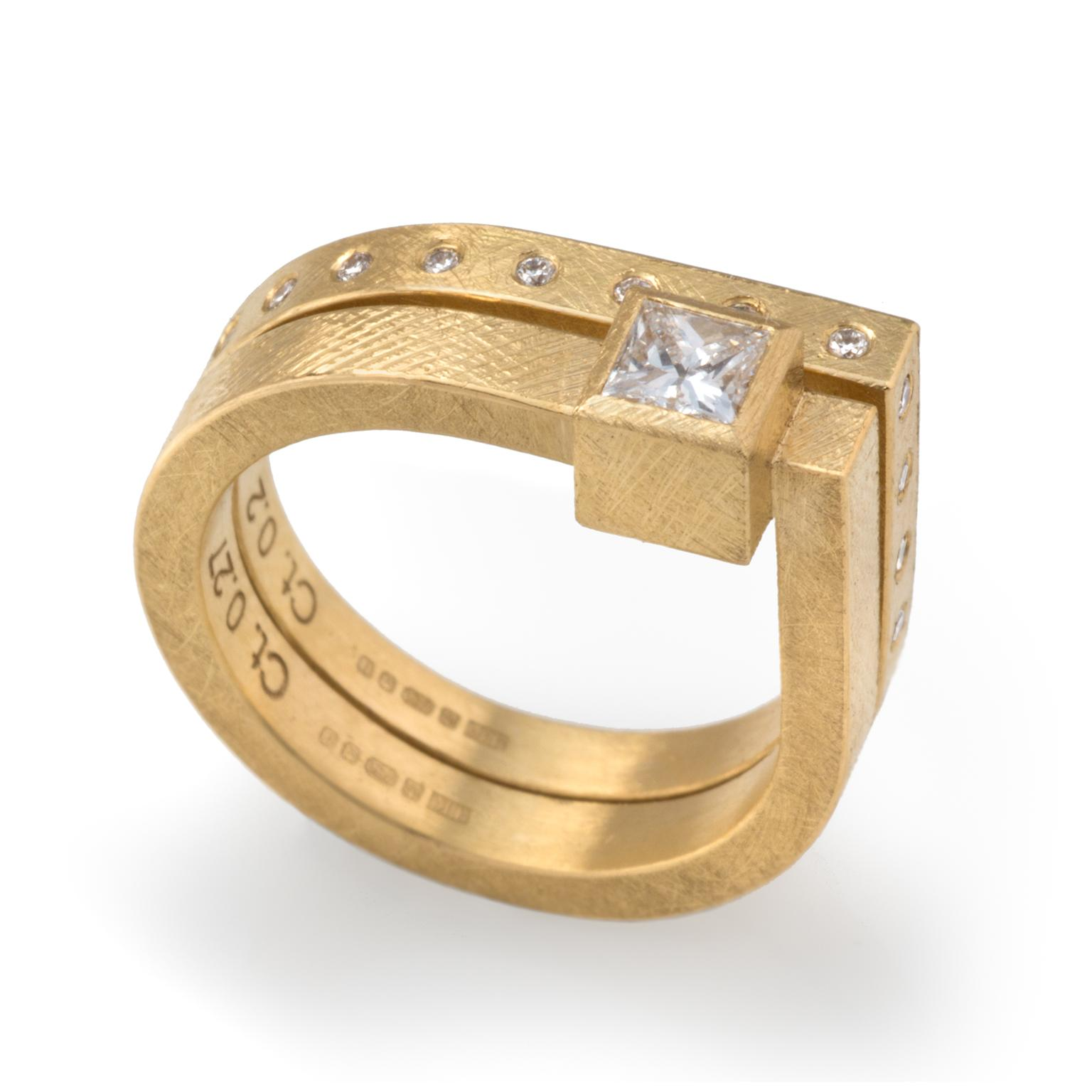 Josef Koppmann diamond ring