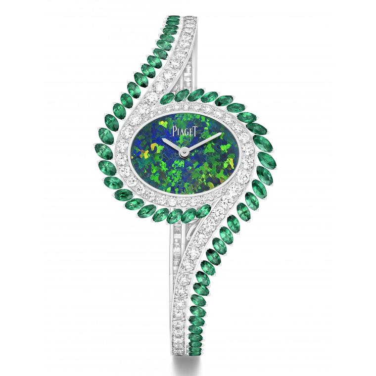 Limelight Gala watch with opal dial by Piaget