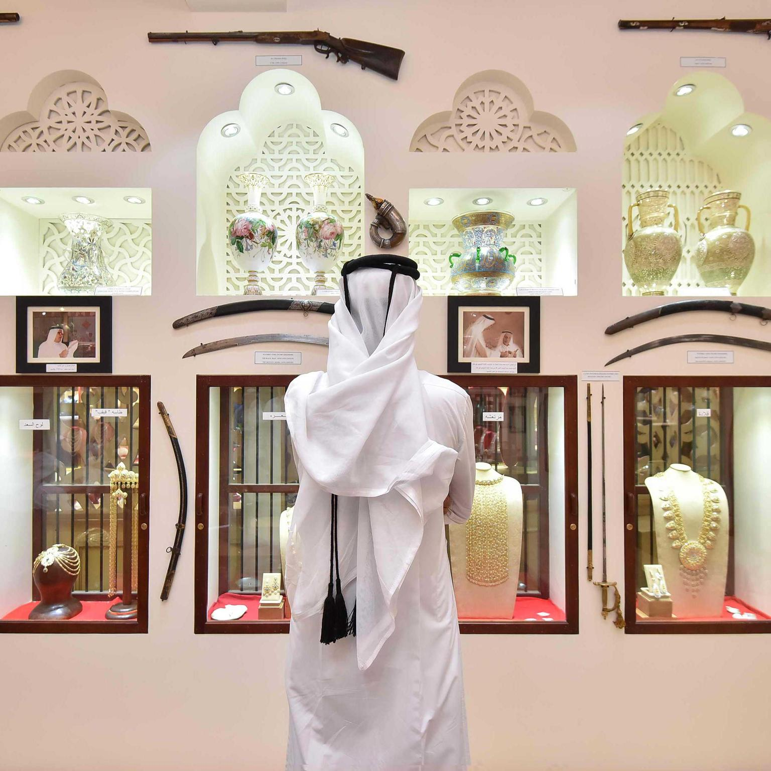 Traditional Arabian artefacts on show at DJWE 2018