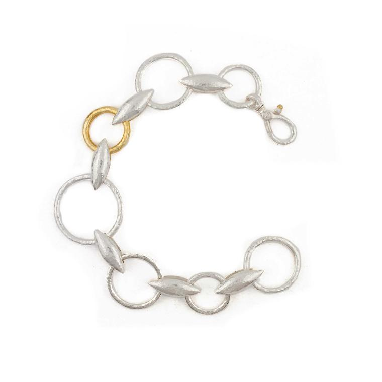 Gurhan Wheatla Bracelet in Sterling Silver Layered with 24ct Gold