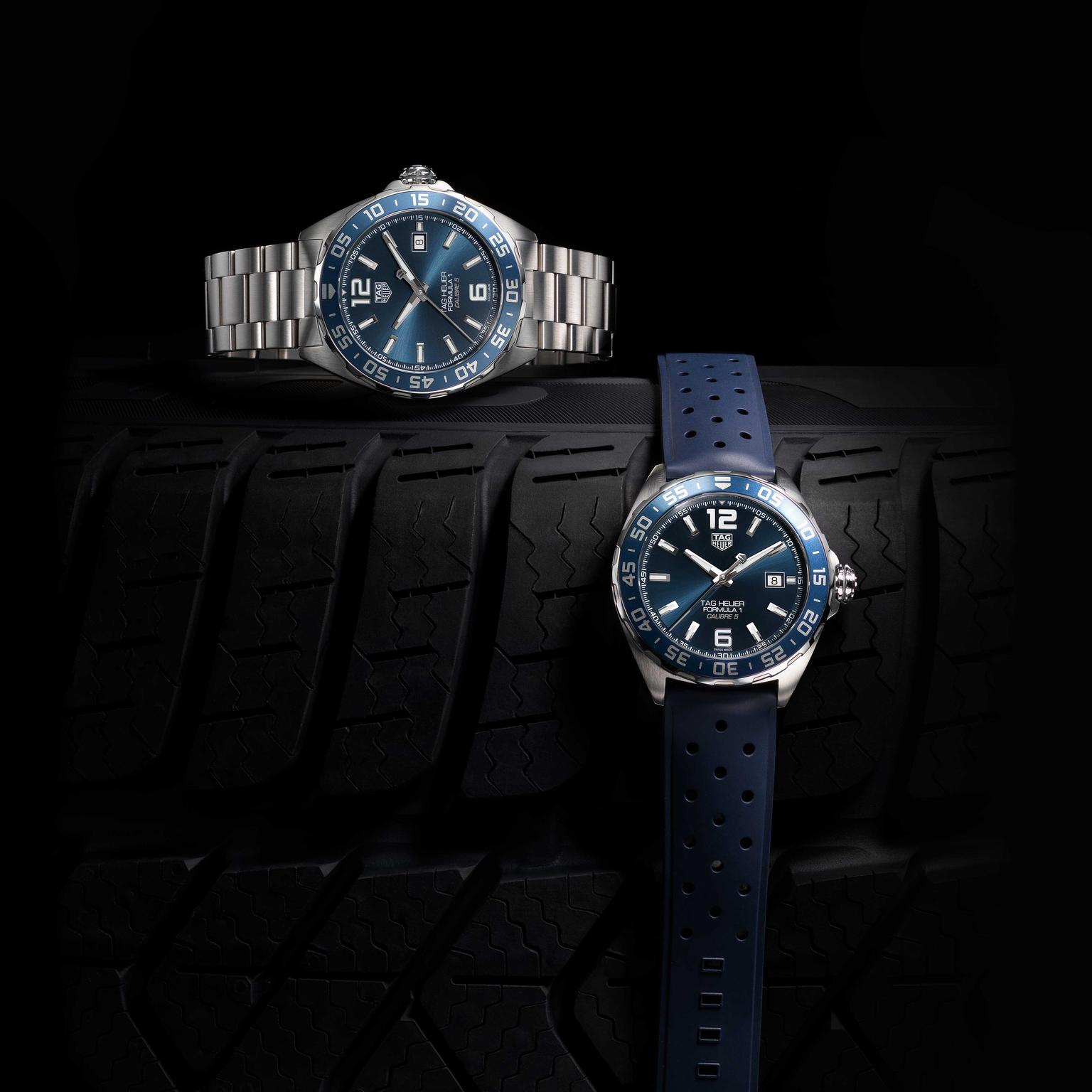 TAG Heuer Formula 1 Bucherer Blue Edition watches