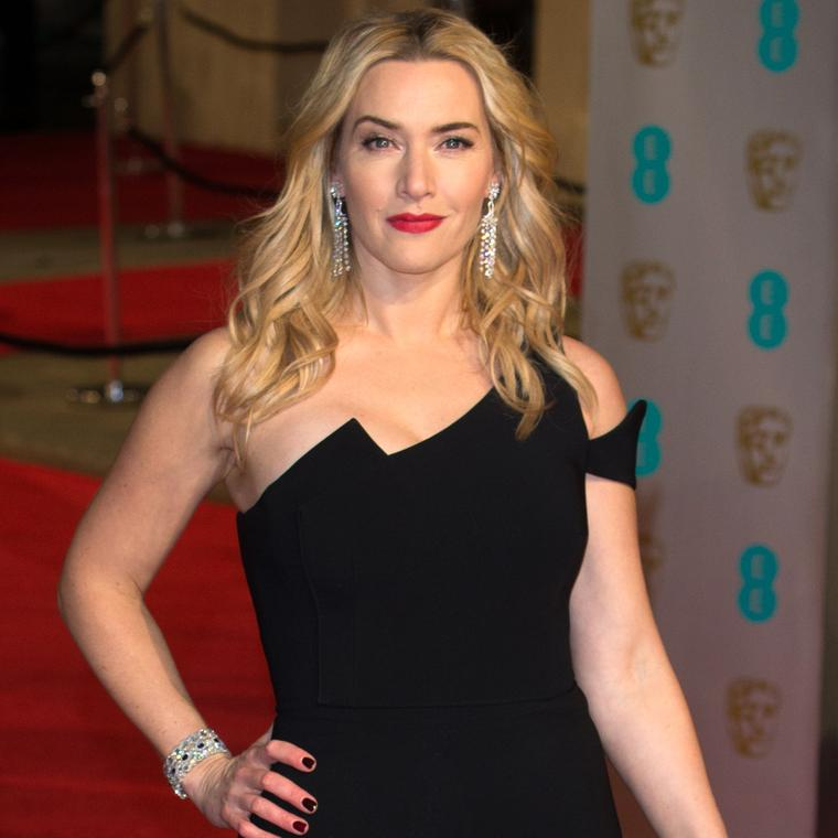 Kate Winslet wears David Morris to BAFTAs 2016