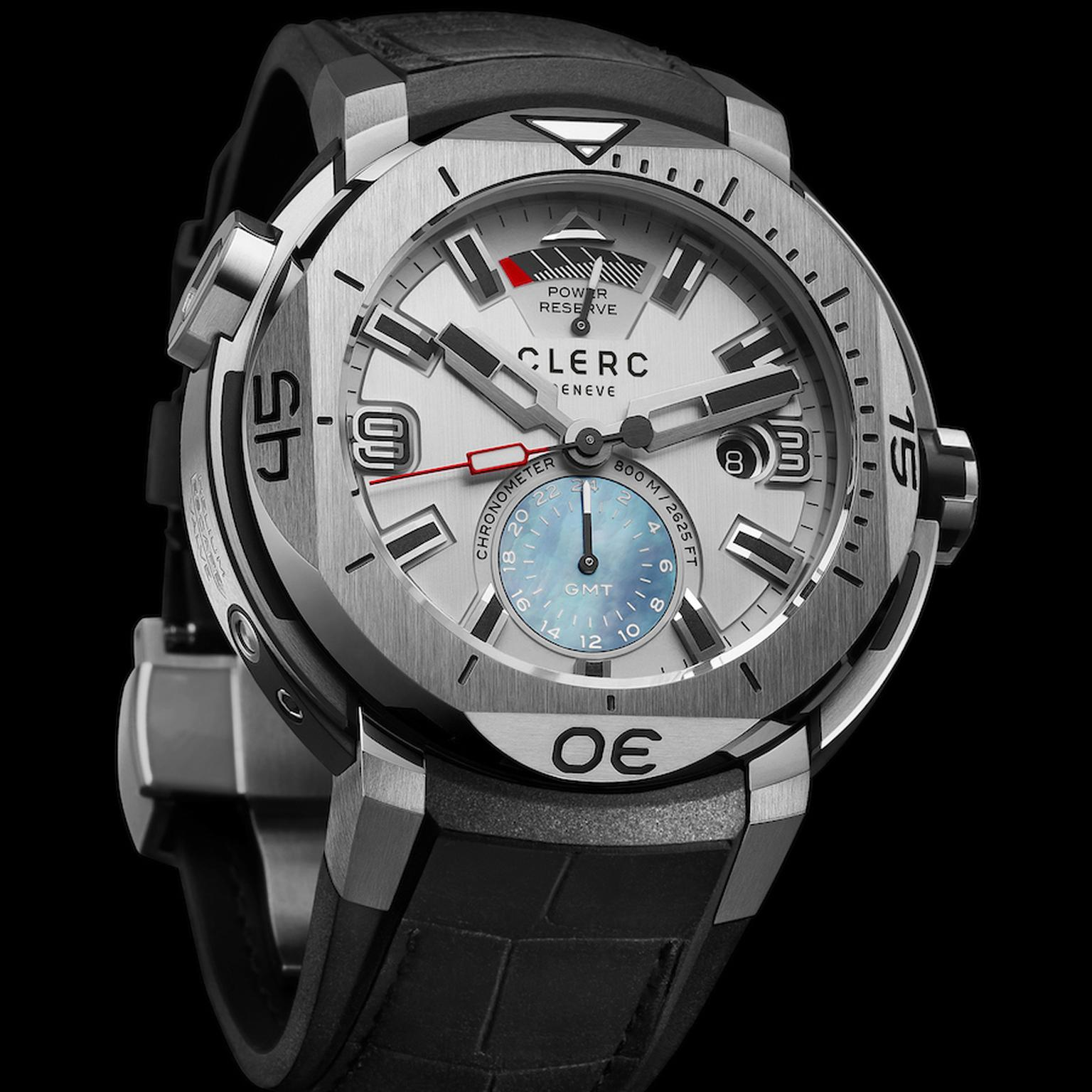 Clerc GMT Hydroscaph watch