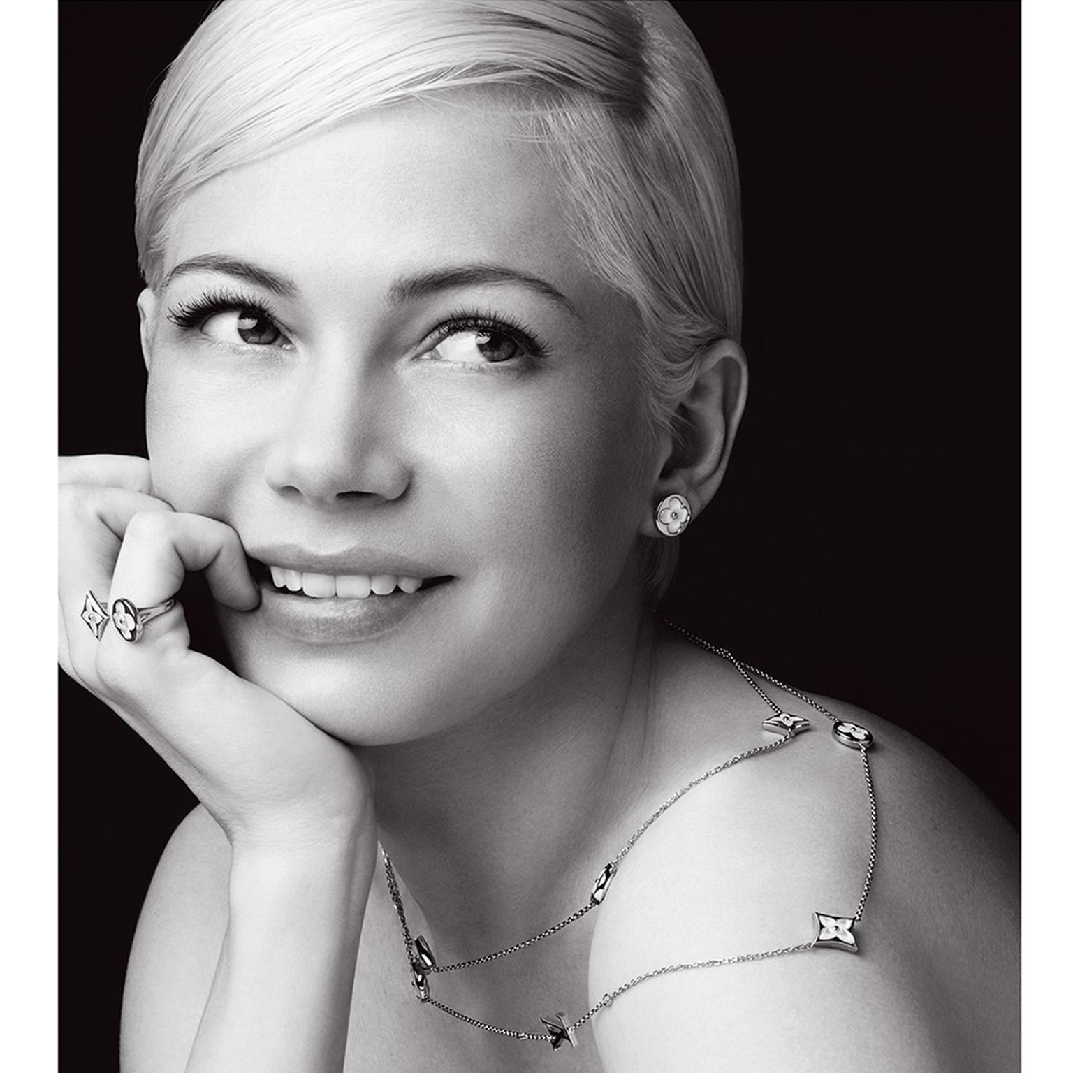 Louis Vuitton Michelle williams Blossom Color BB jewels