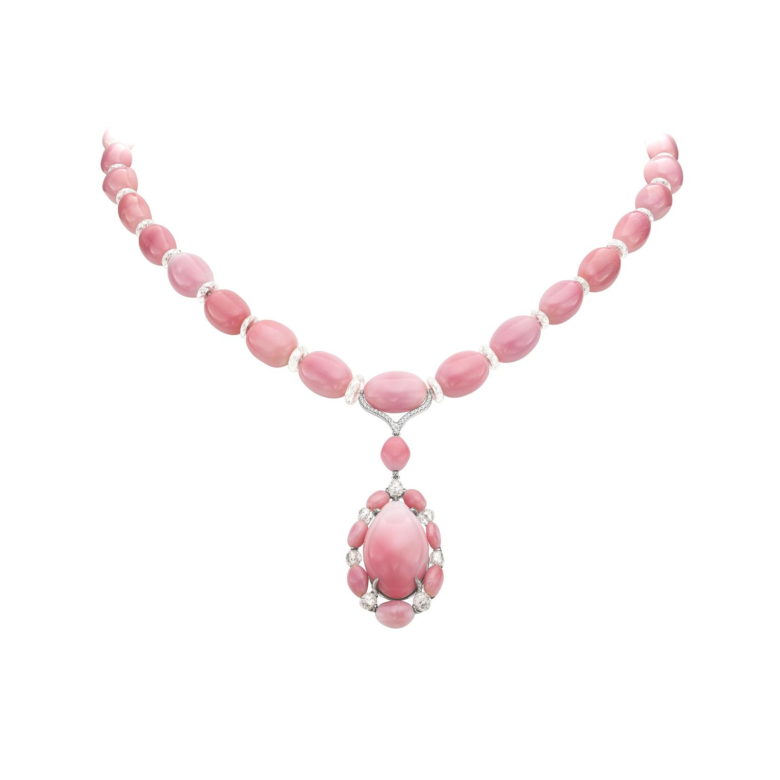 Boghossian conch pearl necklace