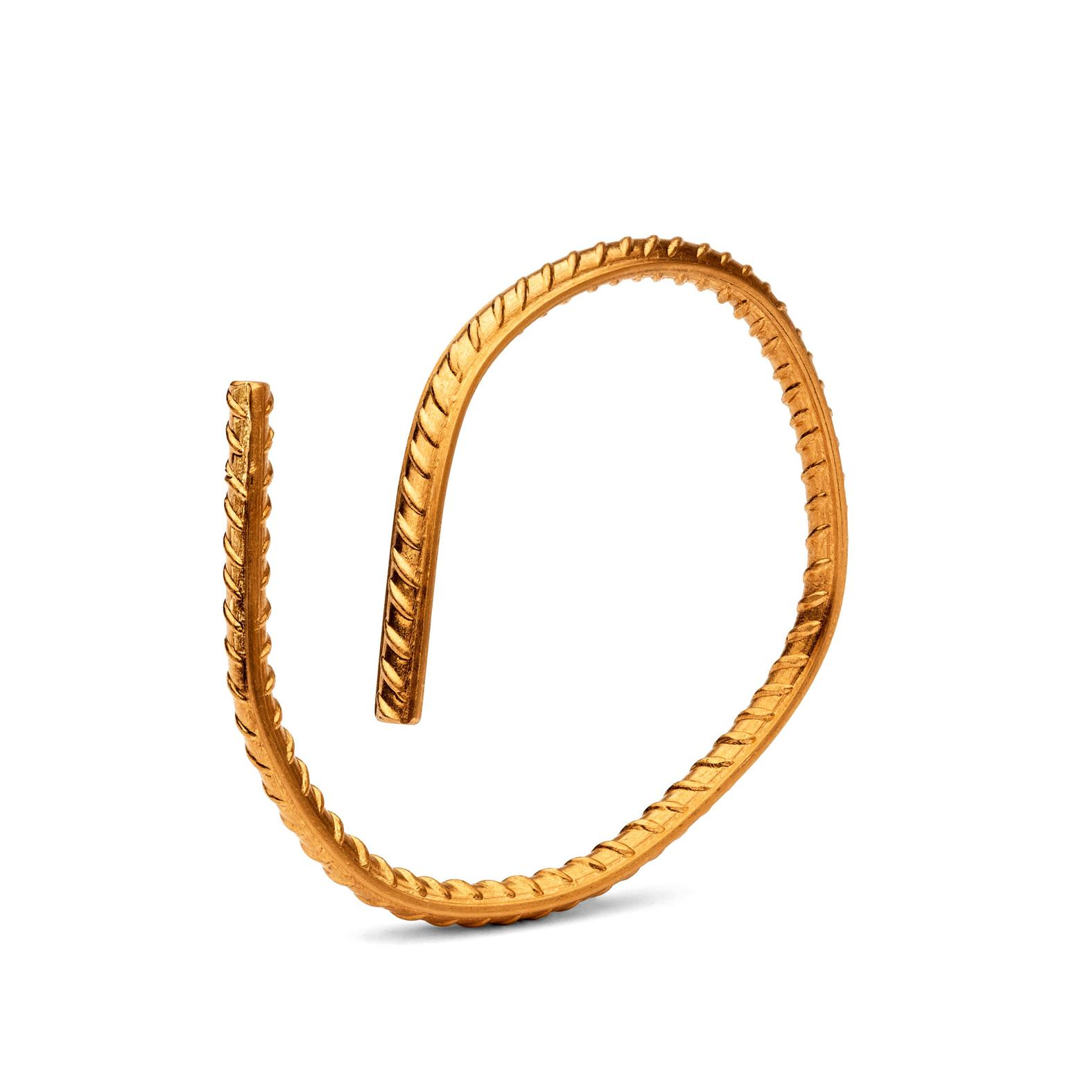 Ai Weiwei for Elisabetta Cipriani yellow gold bracelet